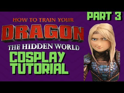 Astrid Armour Cosplay p3. (HTTYD 3 Cosplay Tutorial)