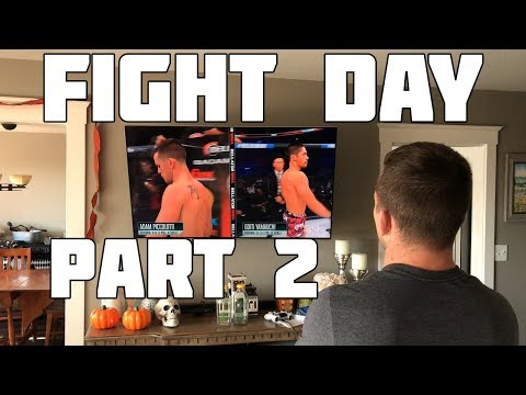 MMA Vlog Episode # 19 | Fight Day Part 2 | Moving forward