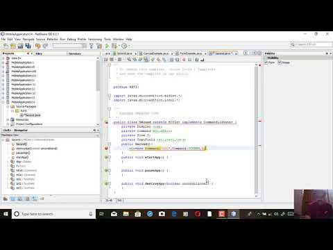 NETBEANS IDE 6.5.1 MOBILE APPLICATION PROJECTS PUBLISHED ON 23/10/2018