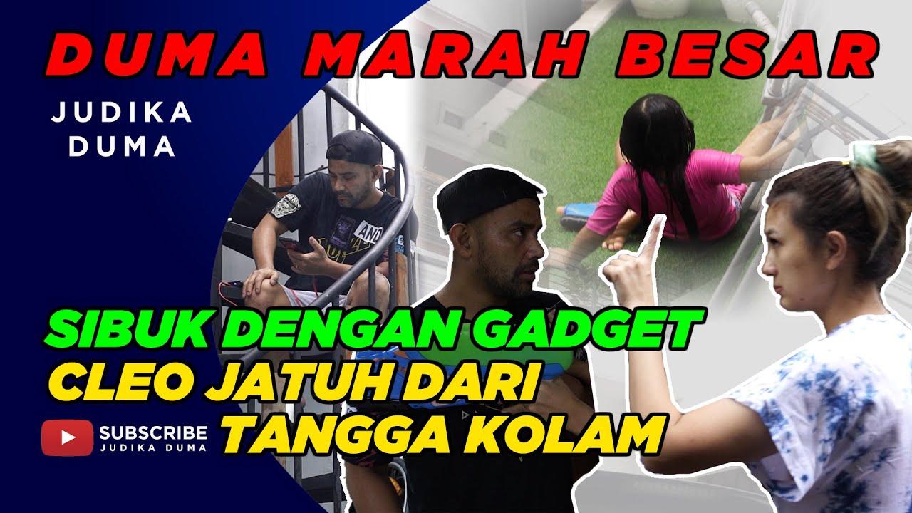 DENGER CLEO JATUH, DUMA LANGSUNG MARAH BESAR !!!