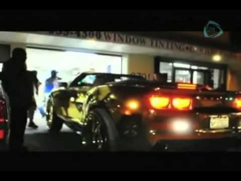 La Sobremesa Camaro Cromado Con Oro Youtube