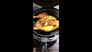 nồi chiên không dầu NINE SHIELD 8l- cách nướng 1 con gà với nồi chiên không dầu