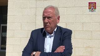 Martin Tyler impressed with the Northampton Town Football & Education programme