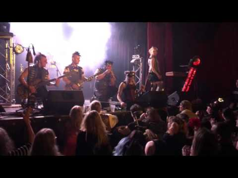 Steampunk band Abney Park creates Get On Your Knees