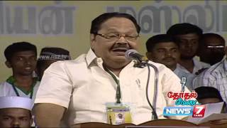 Durai Murugan's speech at Therthal Medai  | Kalam 2016