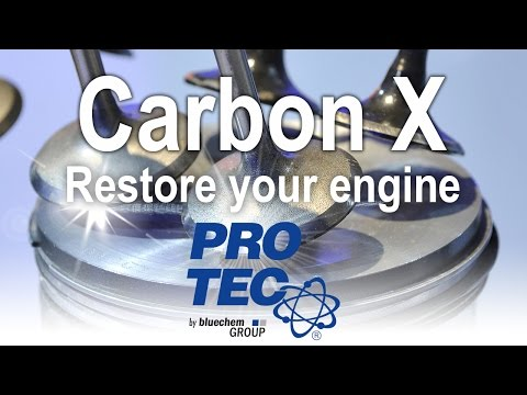 PRO-TEC EN | Combustion Chamber Cleaning Without Dismantling | Carbon X