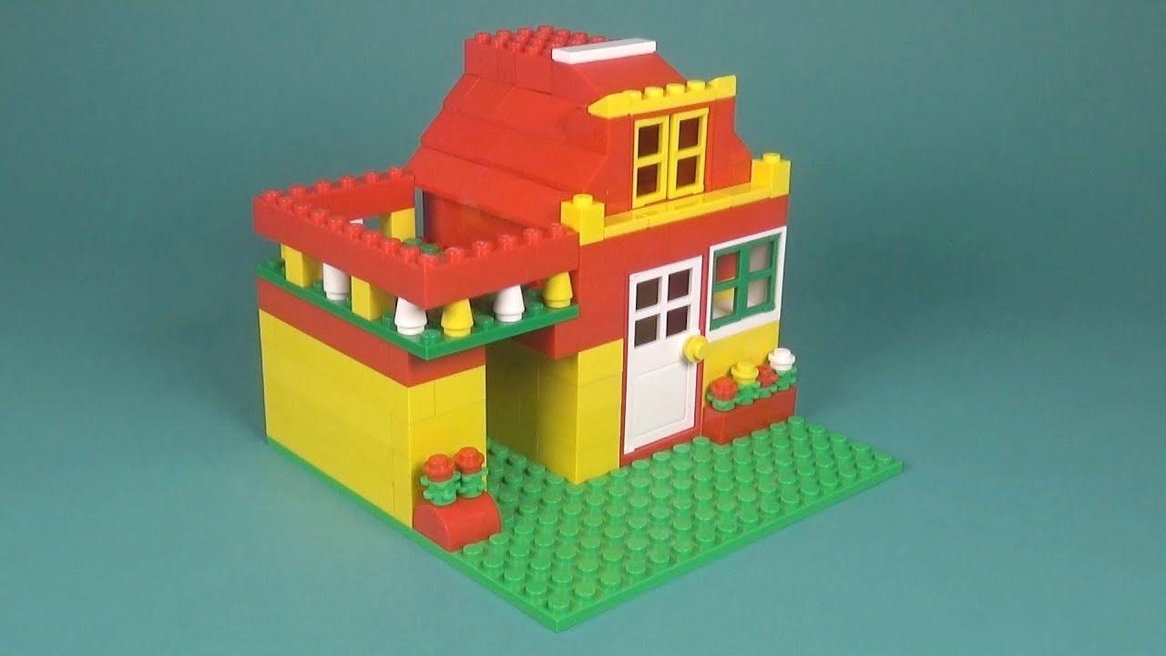 Lego Basic House 017 Building Instructions Lego Classic How To