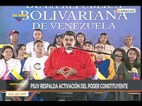 Presidente Maduro denuncia bloqueo simulaneo de cientos de cuentas de Twitter chavistas