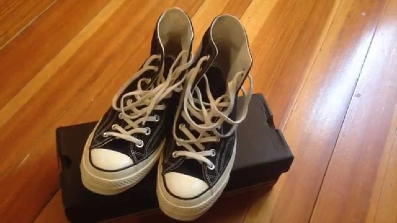 c566af448a79a3 Converse Chuck Taylor All Star 1970 First String - On feet - YouTube