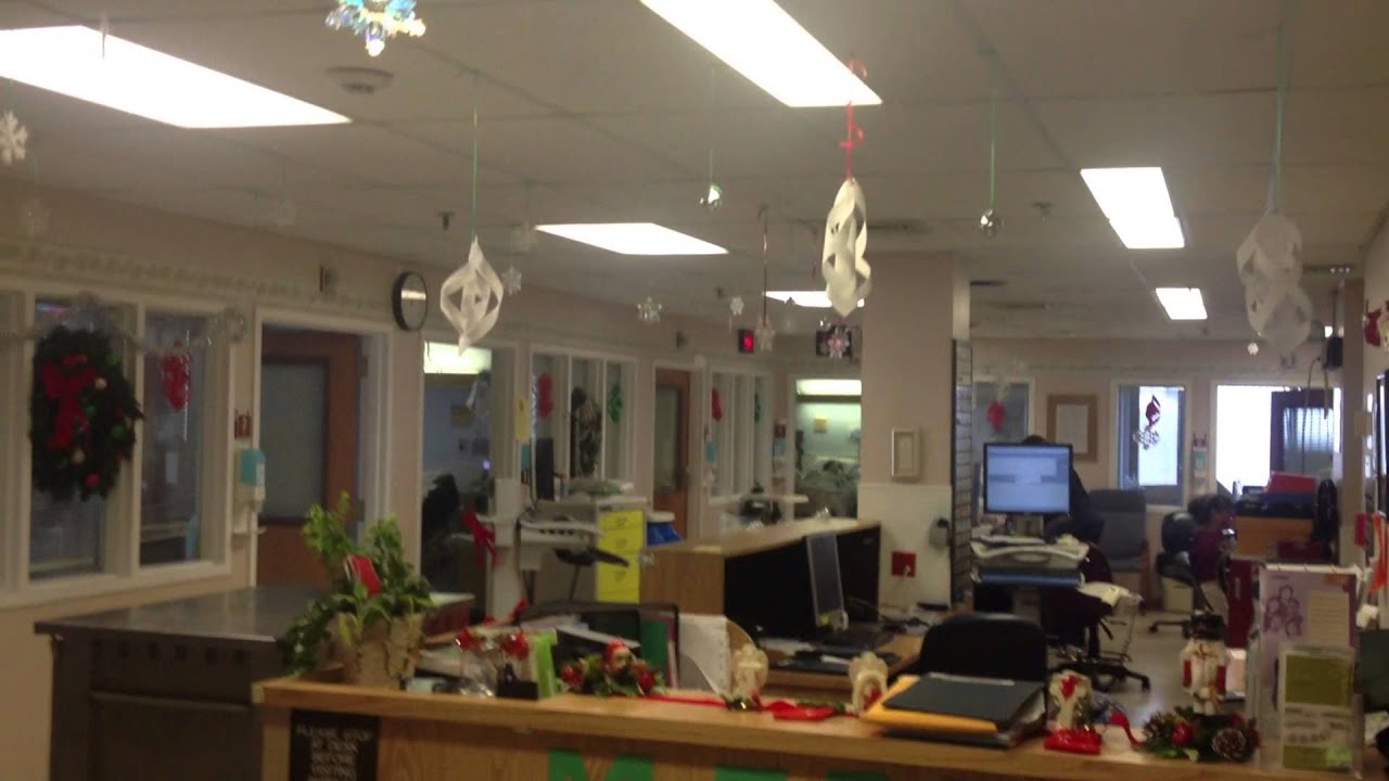 st alexius hospital christmas decoration contest by department youtube