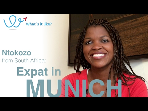 Living in Munich - Expat Interview with Ntokozo (South Africa) about her life in Munich, Germany