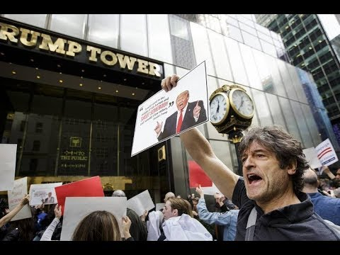 LIVE COVERAGE: Trump Tower Protests as President Returns to NYC