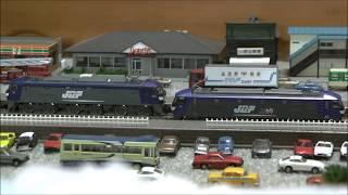 Nゲージ 貨物列車 EF210 桃太郎  チキ5500  EF210 桃太郎  コキ5500