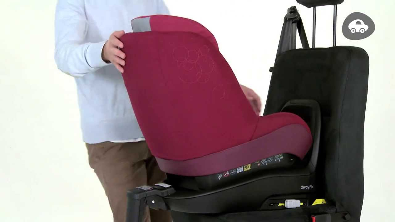 maxi cosi how to install 2waypearl on your isofix 2wayfix base youtube. Black Bedroom Furniture Sets. Home Design Ideas