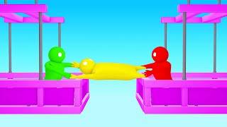 TRUSTING My FRIENDS Not To DROP ME In Gang Beasts!