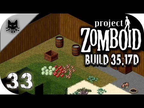 """PROJECT ZOMBOID [Build 35.17d] - #33 """"La gran cosecha"""" - Gameplay Español"""