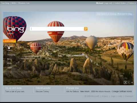 Microsoft's Bing goes live-ish