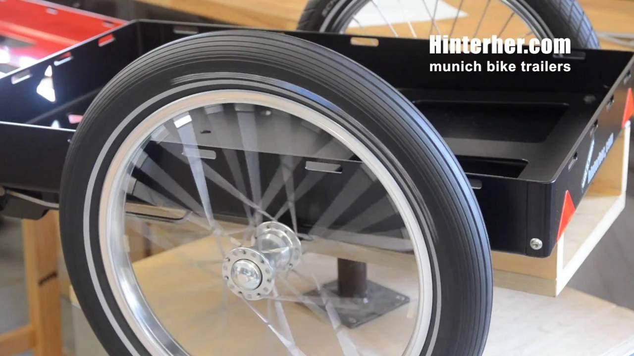 Fahrradanhänger Making Of Hinterher Lastenanhänger Biketrailer