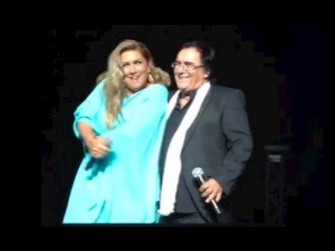 Il primo abbraccio tra Albano e Romina dopo 18 anni