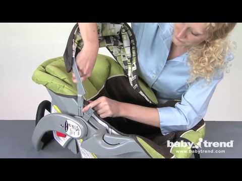 Assembly instructions for Baby Trend Flex Loc Infant Baby Seat with Base
