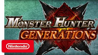 Monster Hunter Generations Announcement Trailer - The Hunt
