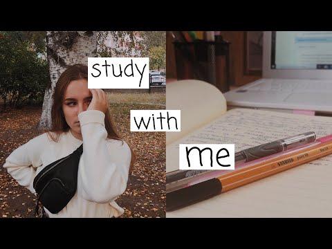 Study With Me〡Домашнем Обучении〡Вторник - Среда♡
