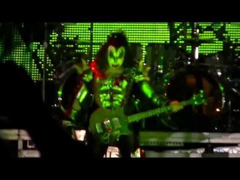 KISS - God Of Thunder (Simpsonville, SC) 8/13/13