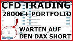 CFD Trading: 2.800€+ | Dax shorten mit Limit Order | CFD Handel für Anfänger | Deutsch