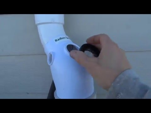 Radon Mitigation System Installation | Diverta Drain Prevents Radon Fan Replacements