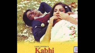 Kabhi kabhi mere dil-Kabhi Kabhi (1976) - Full Song