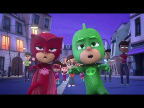 PJ Masks Deutsch 2. Staffel - Ganze Folge 1: Mondrauschbälle - Cartoons für Kinder