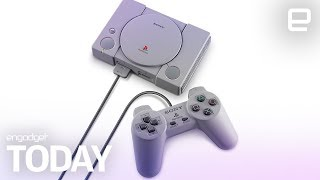 Sony reveals the complete list of PlayStation Classic games | Engadget Today thumbnail