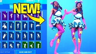 *NEW* STARFISH Skin Showcase With Dance Emotes! Fortnite Battle Royale