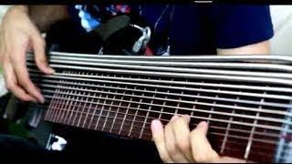GUY PLAYS 15 STRINGS SLAP BASS SOLO music news
