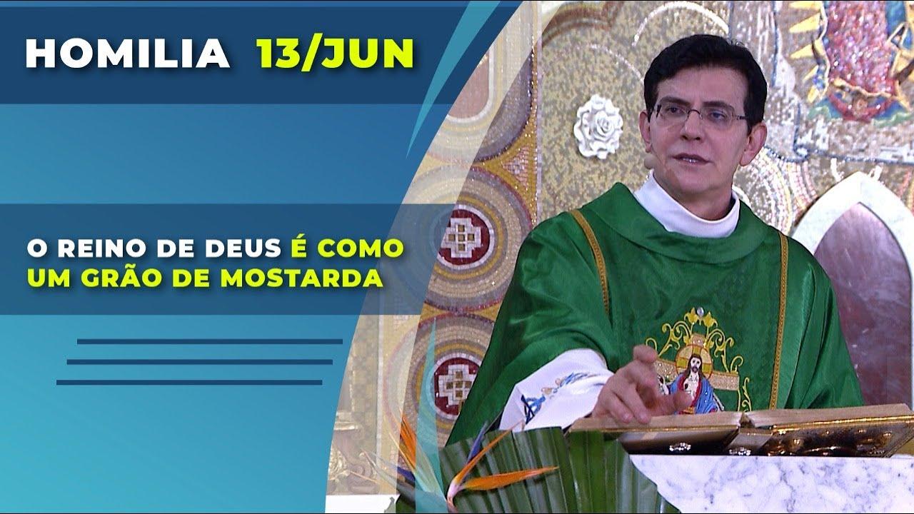Download O REINO DE DEUS É COMO UM GRÃO DE MOSTARDA | Padre Reginaldo Manzotti | Homilia 13.06.2021