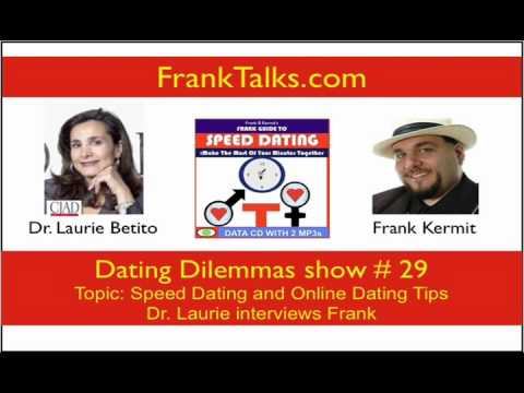 Speed Dating with Dr Laurie and Frank on Dating Dilemmas