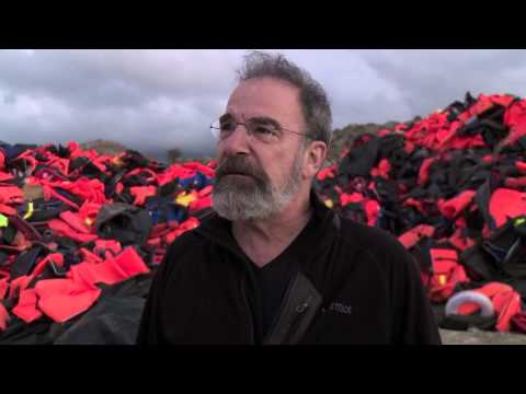 Mandy Patinkin visits Lesbos, Greece