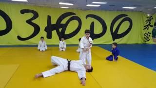 "Judo. Children .6-7 years Klub ""Ak Bars"".柔道。子供。6-7年"