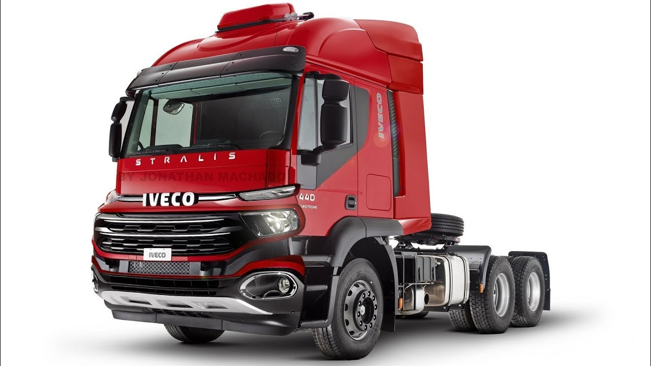 RENDER Fiat Toro Truck @ 2020 Iveco Stralis Facelift