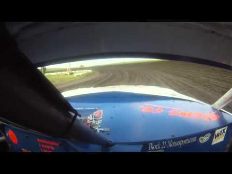 I-90 Speedway Hobby Stock Heat - 6/13/15 - Aaron De Thury