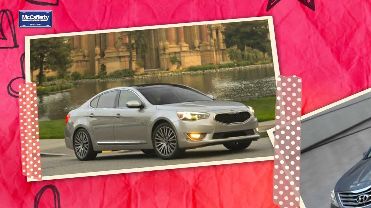 Fred Beans Kia >> Kia Cadenza Vs. Hyundai Azera - YouTube