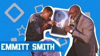 EMMITT SMITH'S NEW E.T. BIKE ON CABBIE PRESENTS