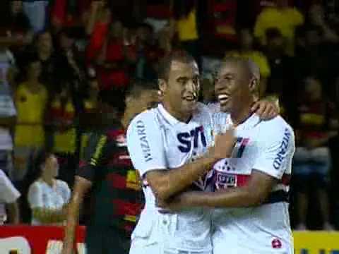 Sport 2 x 4 São Paulo Gols pelo Campeonato Brasileiro 2012 27/10/12