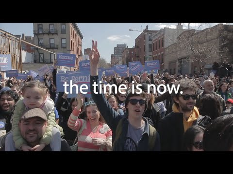 The Cause Is Right and the Time is Now | Bernie Sanders
