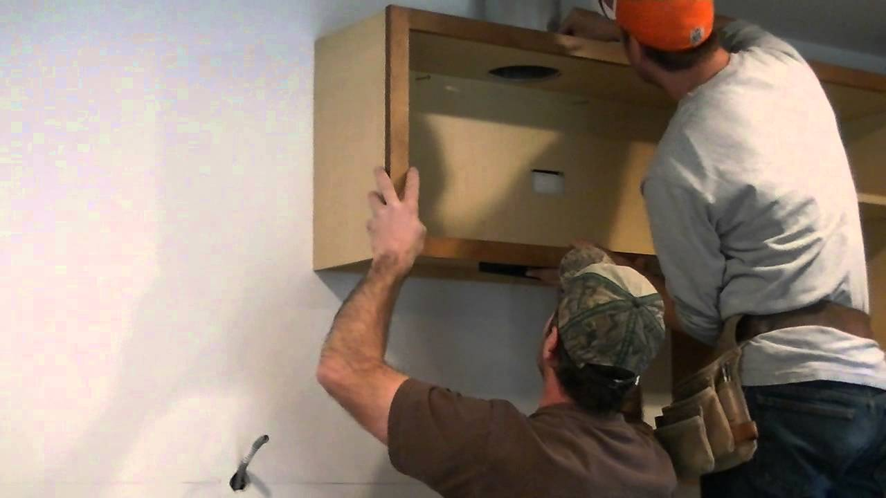 T JAK cabinet install 012 - YouTube