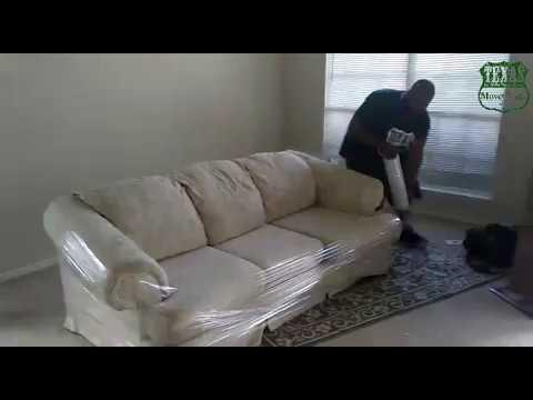 How To Shrink Wrap A Sofa