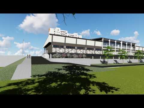Эскизный проект Торгово-развлекательного центра в г. Белая Калитва