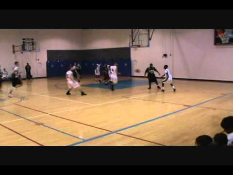 Charles Wright Academy players in AAU Basketball 2011