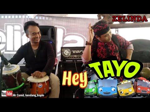 TAYO(Hey Tayo) OM ZELINDA//Lihat Aksi Kocak Mr ComiL Kendang//cak Apud Melody