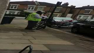 Old man going in on a Traffic Warden..